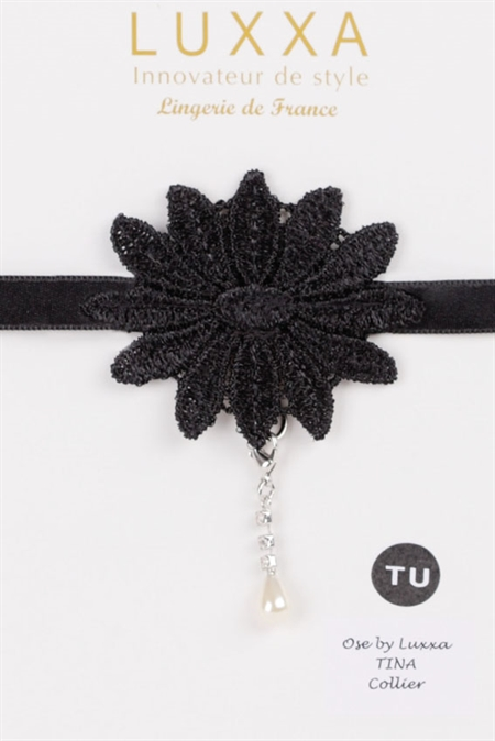 Collier guipure  TINA :