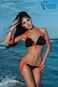 MAILLOT SEXY PARADISE Noir & Orange - Collection lingerie Luxxa sur Mer