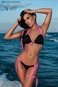 MAILLOT SEXY PARADISE Noir & Rose - Collection lingerie Luxxa sur Mer